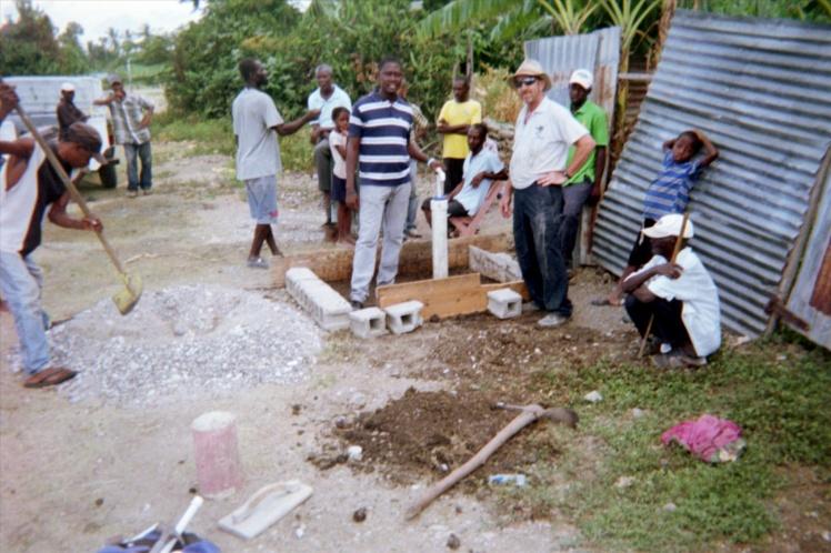 Well in Haiti!