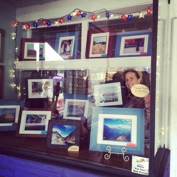 Bogarts Bookstore Photo Display
