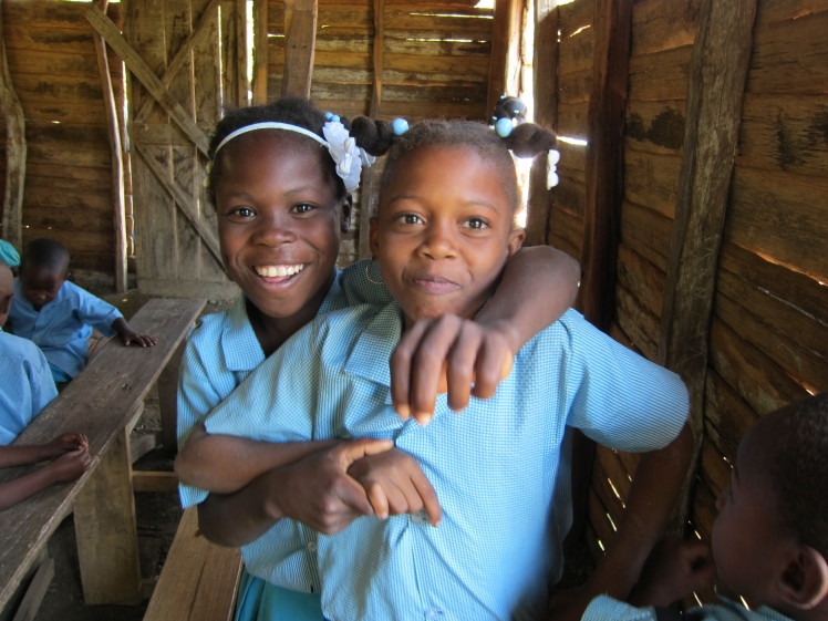 students in Marbial, Haiti