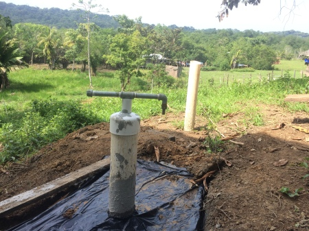 This is the well that all three men worked on with me