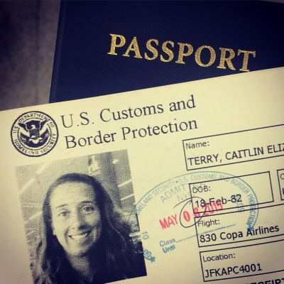 Always happy to pass border protection and immigration